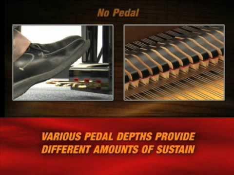 Yamaha Digital Piano Demo - Half Damper Effect Technology