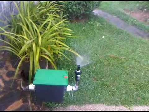 Sistema de riego automatico parte 2 3gp youtube for Riego automatico jardin