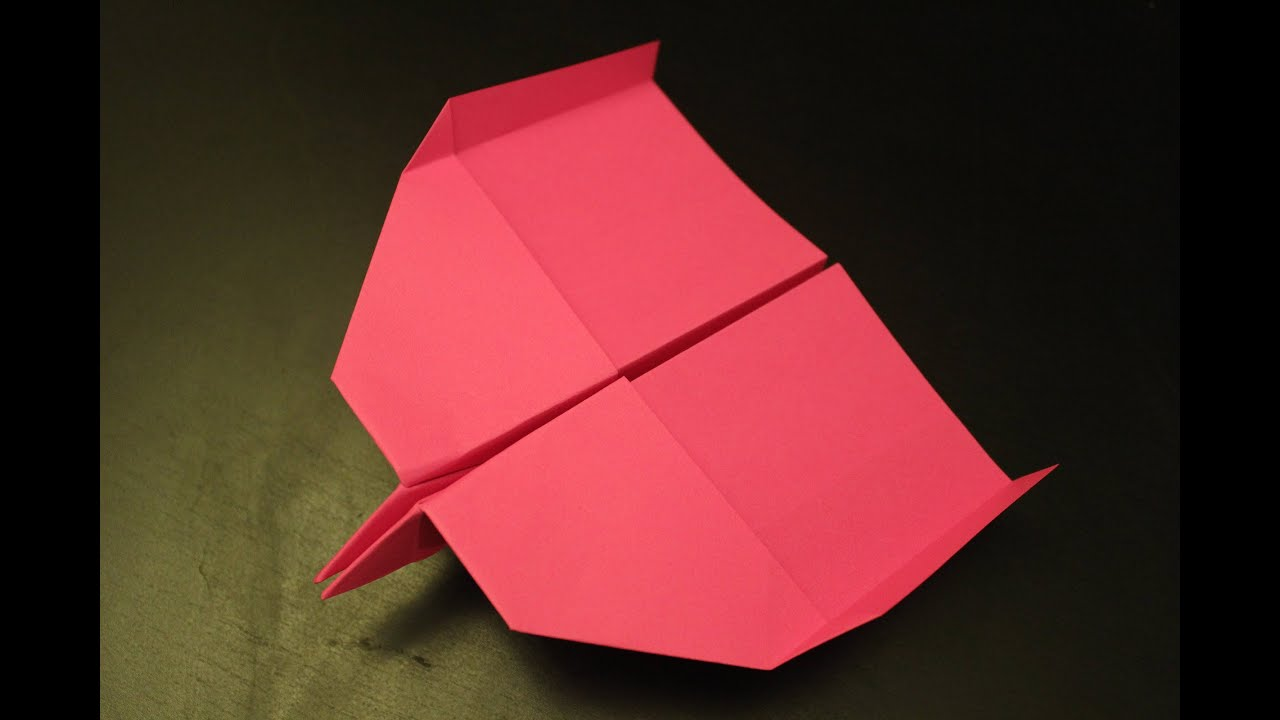 How to make an unbelievable super fast paper plane origami ever ...