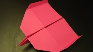 How To Make An Unbelievable Super Fast Paper Plane Origami Ever: Instruction| Spider