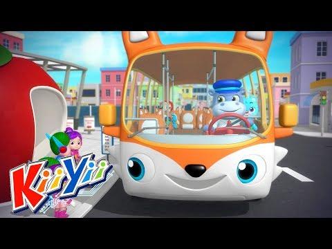Wheels On The Bus + Lots More!   Nursery Rhymes & Kids Songs by KiiYii   KiiYii LIVE