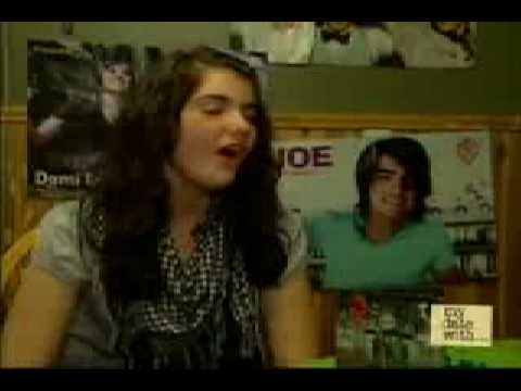My Date with the Jonas Brothers and Demi Lovato (Part 1) - MuchMusic (01/01/09)
