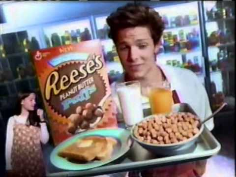 1995 General Mills Reese's Peanut Butter Puffs Commercial With Blaze & Beau Berdahl