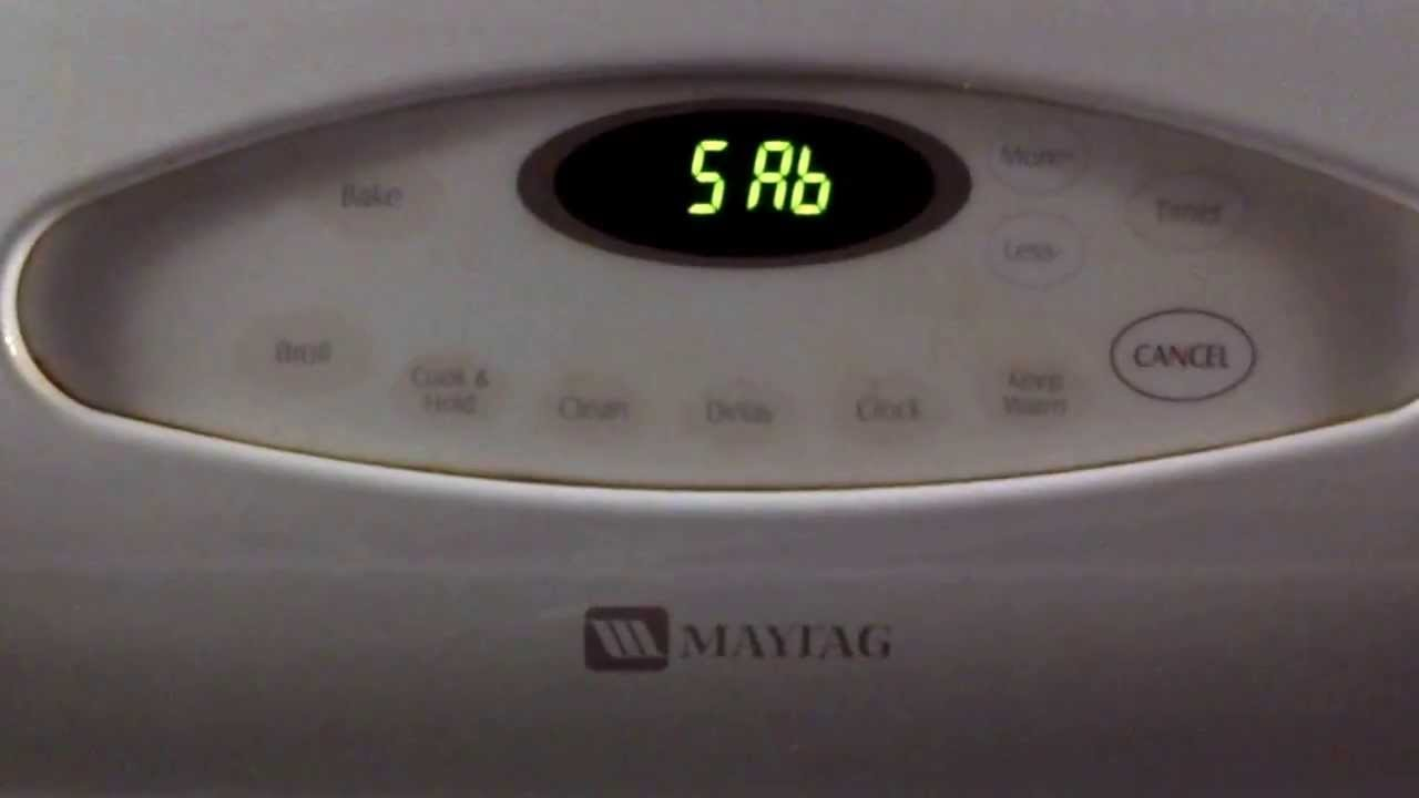 Maytag Oven Sab Error Code Youtube