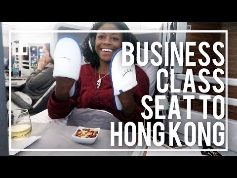FLYING BUSINESS CLASS TO HONG KONG | THE REAL LIFE OF A FLIGHT ATTENDANT