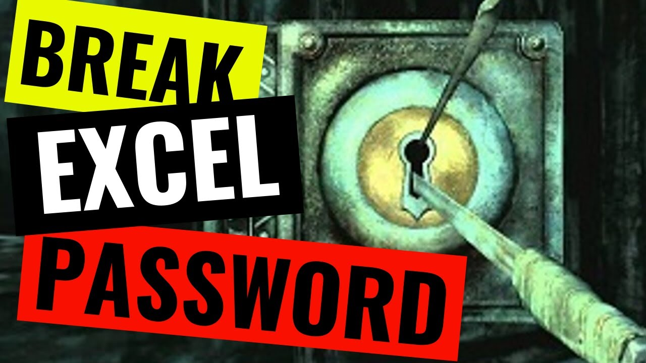 How to remove a password from a protected worksheet or workbook in ...
