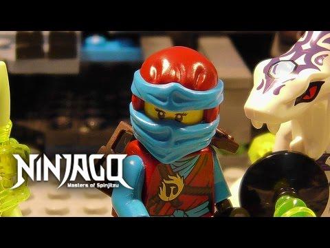 LEGO Ninjago - War of the Titans - EPISODE 4: Cave Chaos Part 2