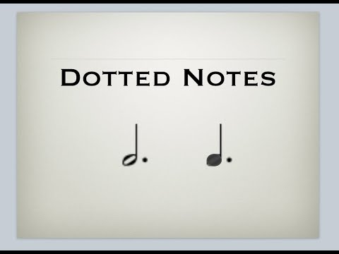 Free Music Theory - Dotted Notes Explained