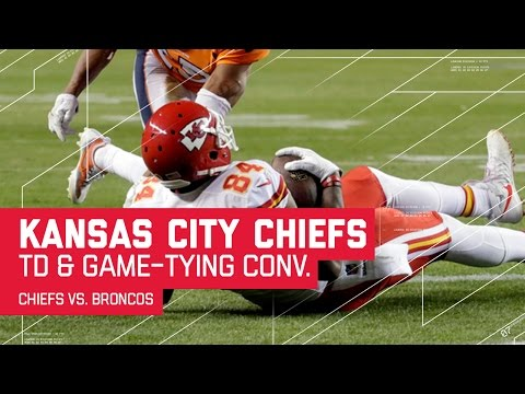 Chiefs Score TD & Convert 2-Pt Conversion to Tie Game! | Chiefs vs. Broncos | NFL
