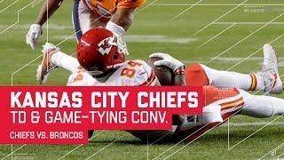Chiefs Score TD & Convert 2-Pt Conversion to Tie Game! | Chiefs vs. Broncos | NFL