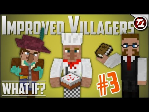 What If Minecraft had MUCH Better Villagers? (PART 3!) thumbnail