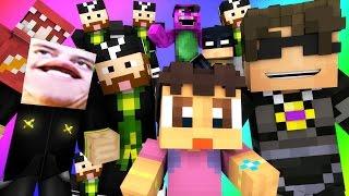 Minecraft Mini-Game : DO NOT LAUGH! (TOTALLY TEA, FRANKS FLOWER FARM!) w/ Facecam