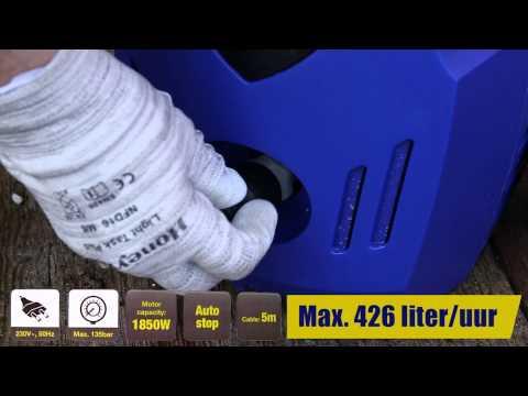 Verwonderlijk 871125252520 Kinzo hogedrukreiniger - YouTube XS-43
