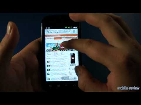 Обзор Samsung Google Nexus S i9023