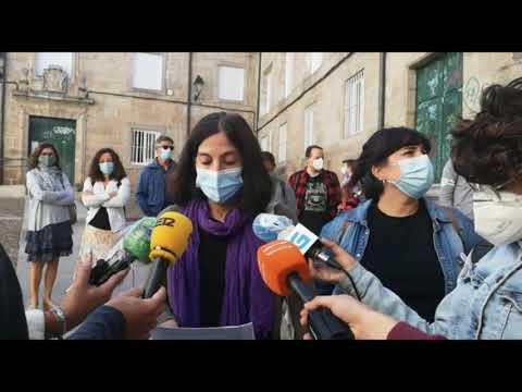 Nuevas protestas de los padres del CEIP As Mercedes por el cierre del comedor escolar