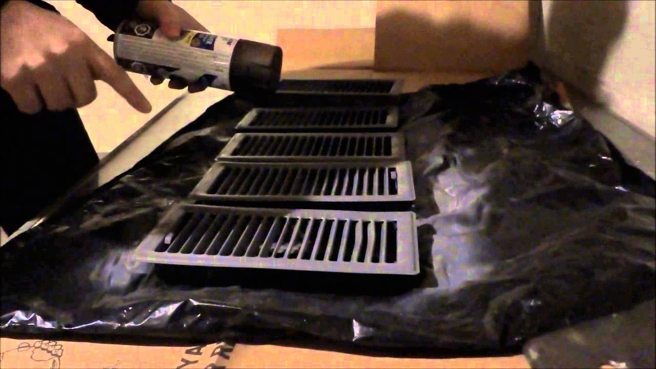 Popular EASY Home DIY Project-Spray Painting Floor Registers - YouTube VN31