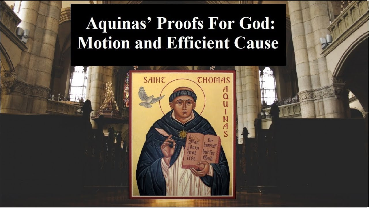an analysis of the concept of god proof by aquinas Aquinas's concept of infinity  insufficiently informed by an analysis of aquinas's  cornelio fabro holds that the quarta via prefigures the proof of god's.