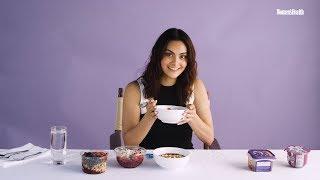 Camila Mendes Taste Tests Acai Bowls | Food Fight | Women's Health