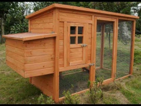 How To Build Your Own Chicken Coop - YouTube