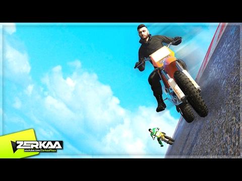 SCARIEST SANCHEZ RACE! (GTA 5 Funny Moments)
