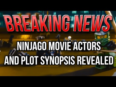 BREAKING NEWS: Ninjago (2017) Plot Synopsis and Voice Actors Revealed