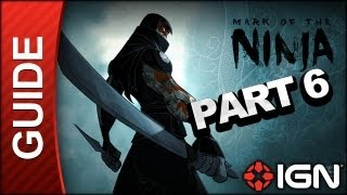 Mark of the Ninja - Mission 6: An Ancestral Home - Gameplay