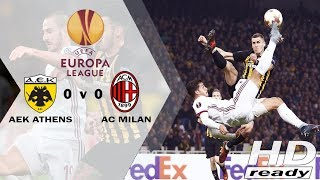Download Video AEK Athens vs Milan 0-0 UEL - All Goals & Highlights 03-11-2017 MP3 3GP MP4