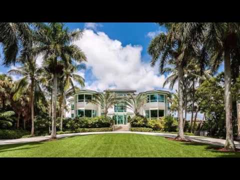Florida Waterfront Property for $21,000,000   20 Tahiti beach island Rd,