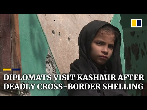 Pakistan brings diplomats to see Kashmir area where cross-border shelling killed at least 10 people