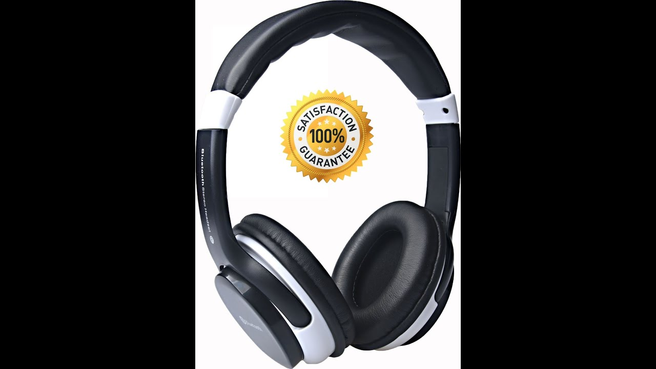 best bluetooth headphones under 40 by lysear wireless headset from forever better youtube. Black Bedroom Furniture Sets. Home Design Ideas