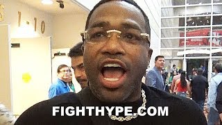 "(DAAAMN!) ADRIEN BRONER SLAMS KEITH THURMAN FOR DISRESPECT; SAYS HE'D BE ""EASY WORK"""