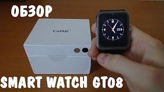 видео Умные часы Smart Watch GT08 Black