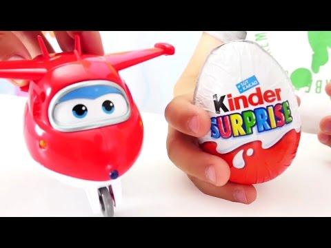 Супер крылья и Киндер сюрприз для детей. Игры для мальчиков
