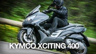 TEST | KYMCO XCITING 400i, Un Tmax made in Taïwan ?