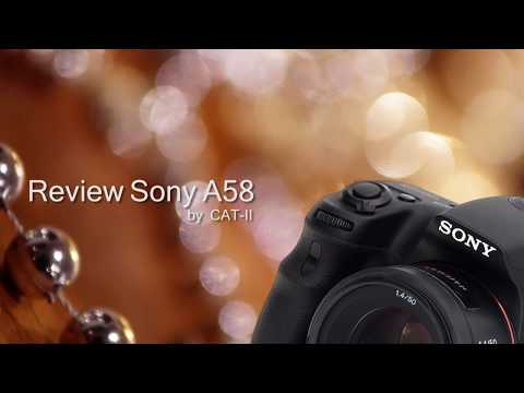 Sony DSLT A58 Video Test