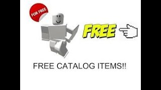 How To Get Free Stuff On Roblox [Free Items]