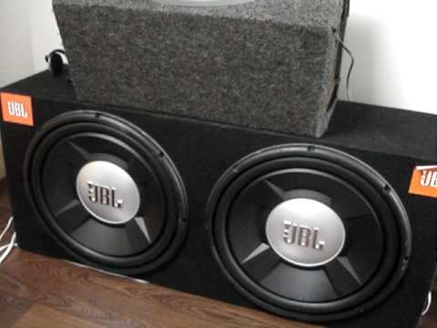 2 15 Jbl Subwoofers Youtube
