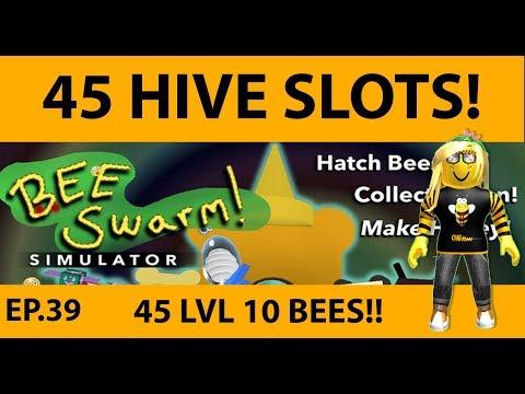 45 Hive Slots  Bee Swarm Simulator  SDMittens