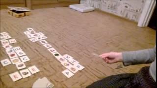 Учим буквы, играя в Лото