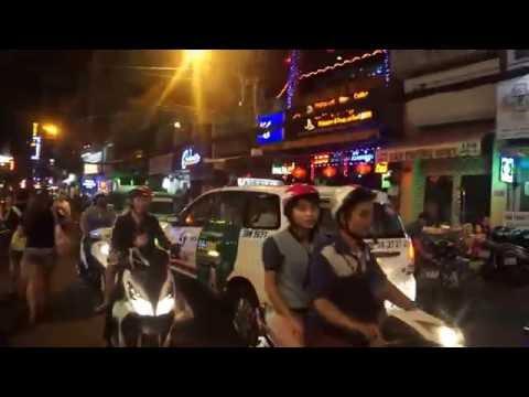 Walking the Main Street of Ho Chi Minh City, Vietnam