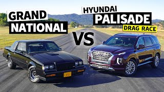 Is a Modern Family SUV Faster Than an 80s Turbo Legend? Grand National vs. Palisade // This vs. That