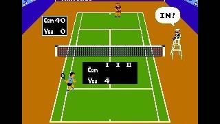 Tennis Japan, USA 单人 5级