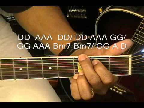 How To Play ONE THING by One Direction On Guitar Lesson No Capo EricBlackmonGuitar