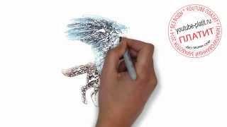 Как быстро и красиво нарисовать собаку ангела карандашом поэтапно за 29 секунд(как нарисовать, нарисовать, собаку, поэтапно, карандашом, нарисованные, собаки, картинки, для начинающих,..., 2014-07-23T04:40:56.000Z)