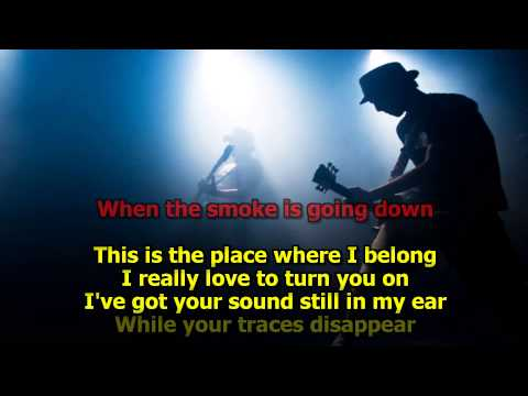 When The Smoke Is Going Down - (HD Karaoke) Scorpions