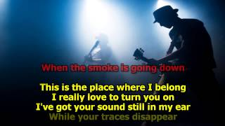 When The Smoke Is Going Down - Scorpions (Karaoke) HD