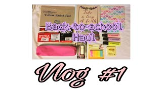Vlog #1 // Back-to-school Haul 2018 (Philippines) ~ Ishe Relampagos