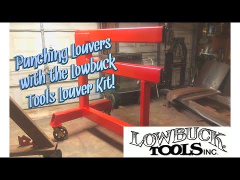 Cheapest DIY Louver Press Kit from Lowbuck Tools