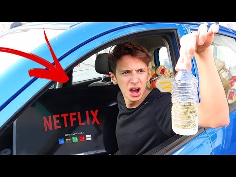 Living in my  CAR for 24 HOURS!! (Car OVERNIGHT Challenge) *and this is what happened*😱