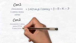 видео Сколько квадратных метров в сотке, как высчитать площадь участка